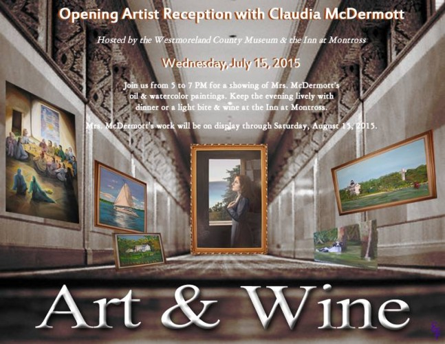 Art & Wine featuring Claudia McDermott