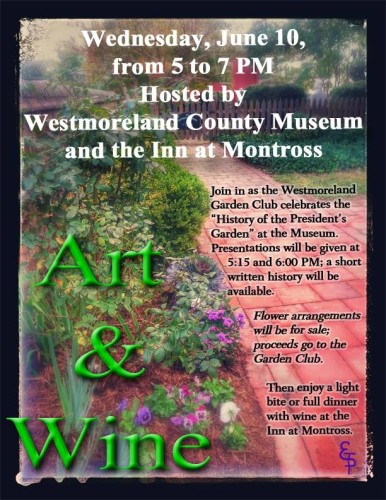 Art & Wine with Garden Club