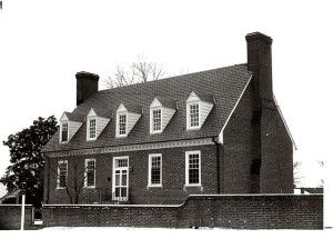 B & W photo of Westmoreland County Museum