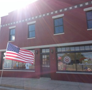 New Wakefield Building with Flag- small