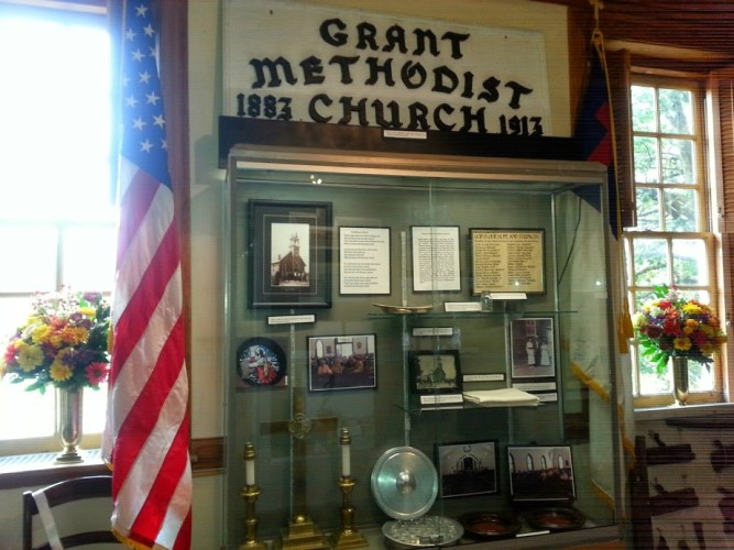 Grant United Methodist Church Exhibit