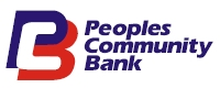 People's Community Bank logo