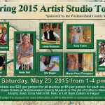 2015 Artists' Studio Tour Flyer