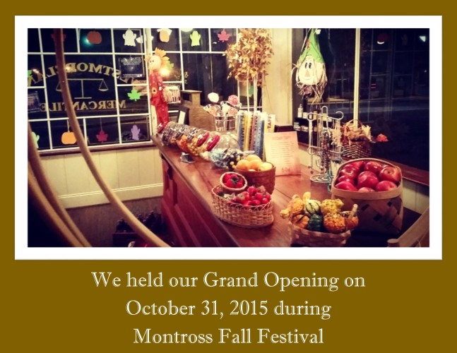 Fall Opening