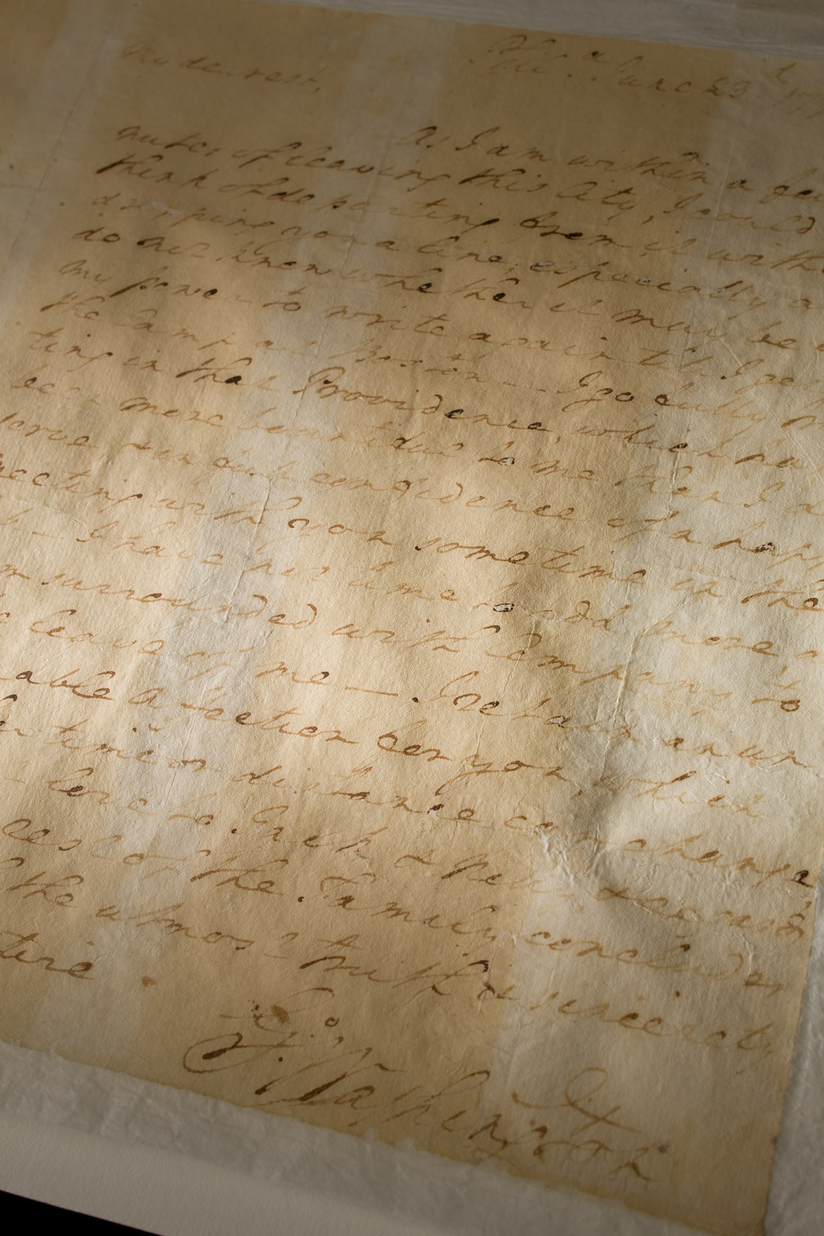 George Washington's Letter