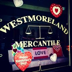 Westmoreland Mercantile Valentine's Day