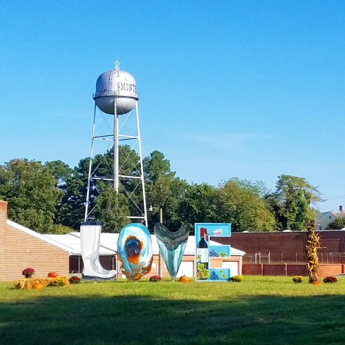 Love Sign at Fall Festival